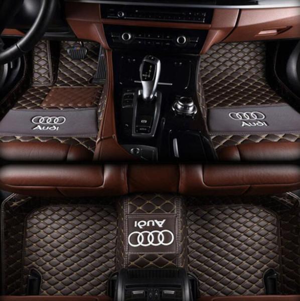 Audi TT 2008-2014 PU iç mata stitchingall çevre dostu toksik olmayan mat çevrili için