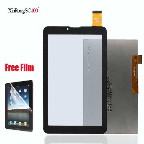 """New touch screen lcd display 7"""" for Supra M722G M723G M725G M727G M728G 3g Tablet Touch screen panel Digitizer Glass Sensor"""