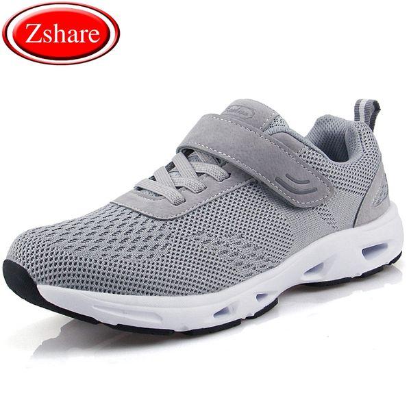 Homens de alta Qualidade Sapatos Homens Sapatos Casuais 2019 Primavera Verão Plus Size 36-45 Unissex Luz Slip-On Moda Respirável Macho Tênis