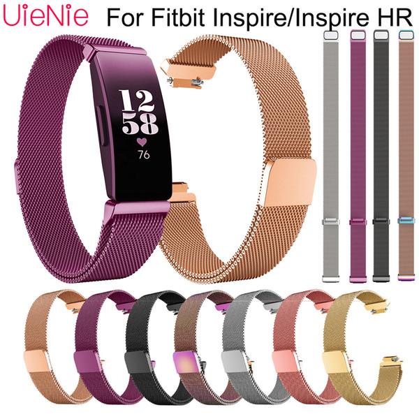 Edelstahlarmband für Fitbit Inspire HR-Armbanduhr für Armbanduhr von Milan für Fitbit Inspire Armband Zubehör