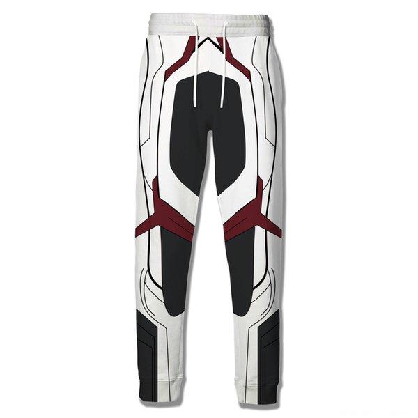 Quantum Blanco y negro Pantalones
