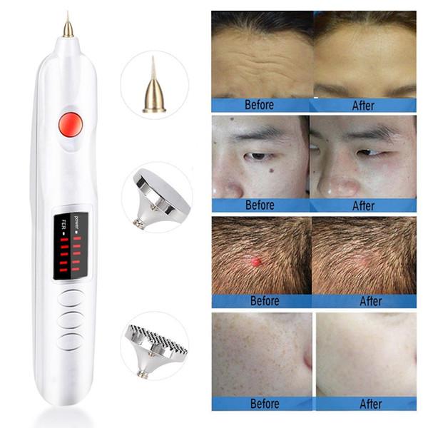 Mini la er pla ma pen eyelid lifting face lift needle pot removal face freckle wart wrinkle tattoo remover kin care home u e beauty device