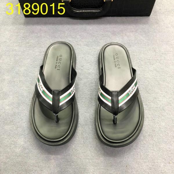 Verão Mais Recente Moda Sandálias Para Homens Design Original Estilo Melhor Qualidade Chinelos confortáveis e anti-derrapante