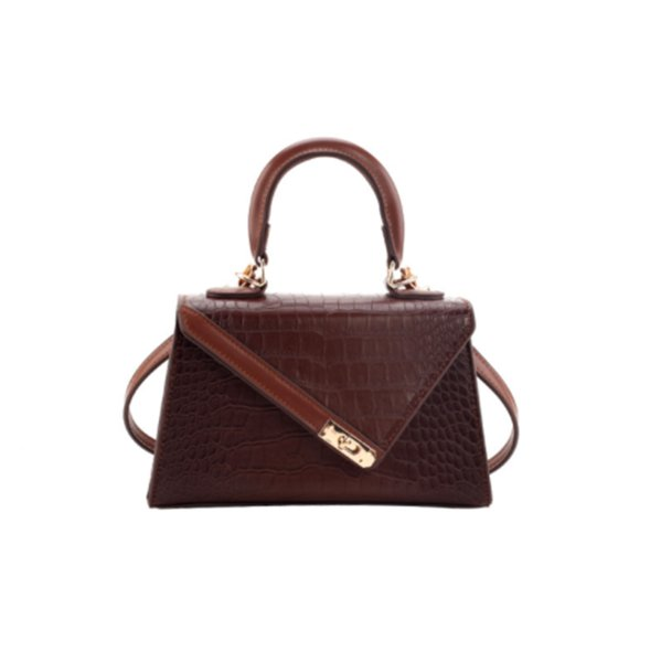Designer Luxus-Handtaschen Frauen Art und Weise Eines-Schulter-Beutel Steinmuster-Messenger kleine quadratische Tasche Textur Hohe Qualität