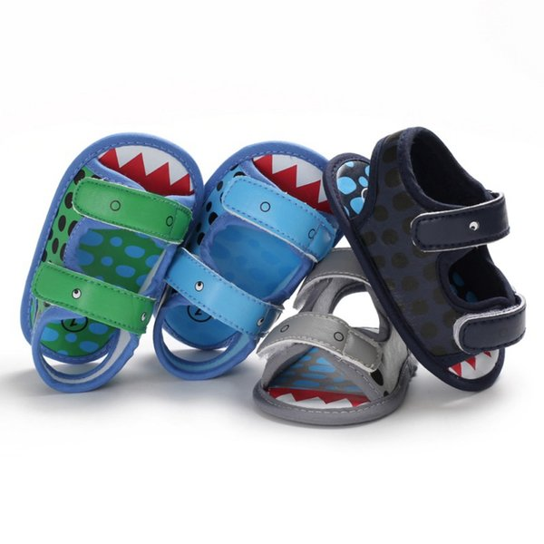 Summer baby boy cute different models leather Breathable Anti-Slip Casual Sandals Toddler Soft Soled Garden sandals