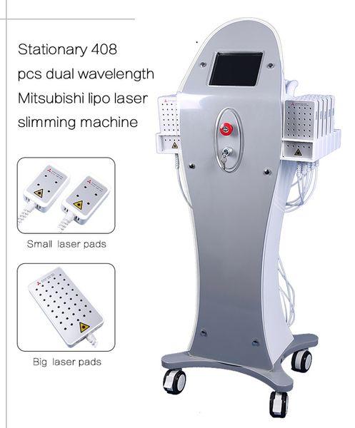 4D 408 diodo laser per la rimozione di cellulite a diodi che brucia il grasso del laser corpo dimagrante 12 pastiglie