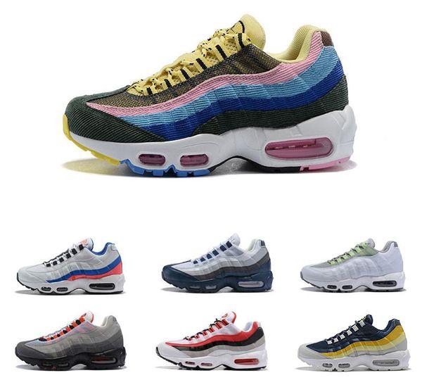 2019 Erkekler Koşu Ayakkabıları OG Yastık Donanma Spor Yüksek Kaliteli Shoes Yürüyüş Botları Erkekler Yastık Tasarımcı Sneakers Boyutu 40-46