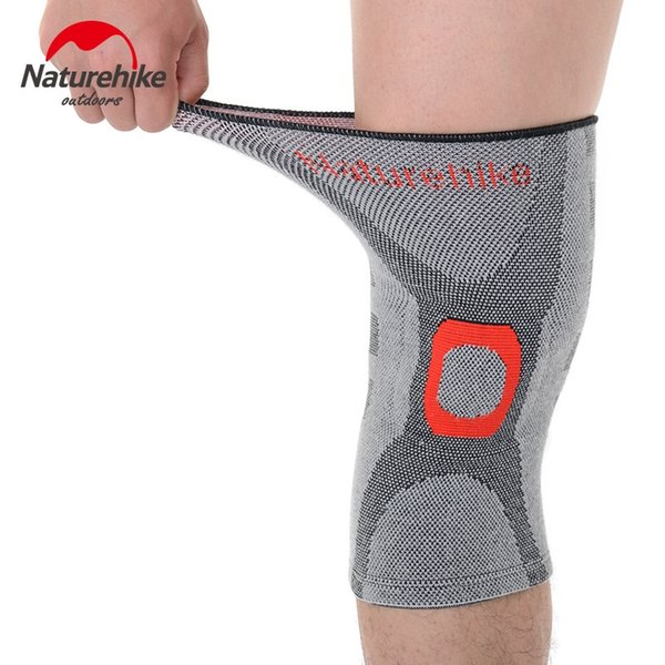 NatureHike Elastic Bamboo Charcoal Knee Support pad For Various Kinds of Sports NH16H003-H #310754