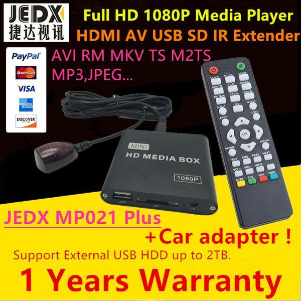 Full HD 1080P Car Media Player with IR Extender AVI DivX MKV DVD MP3 Player HDMI,AV output,SD/MMC/USB Host,Gift&Free Shipping