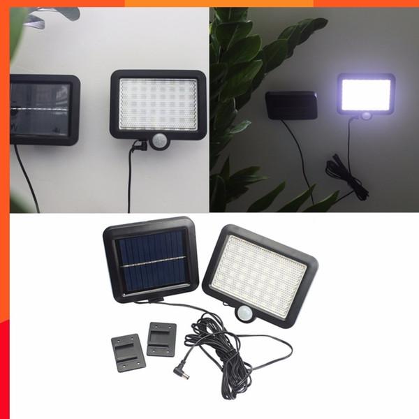 5pcs/lot IP65 56 LED Solar Powered Outdoor Garden Motion Sensor Security Flood Light Spot Lamp Solar Floodlights Spotlights