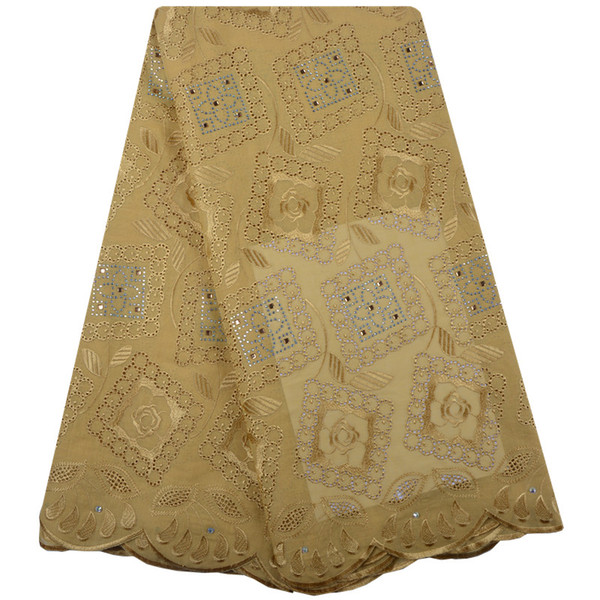 High Quality Swiss Voile Lace 2018 African Voile Swiss Lace Fabric African Swiss Cotton Voile Lace Fabric For Wedding 1339