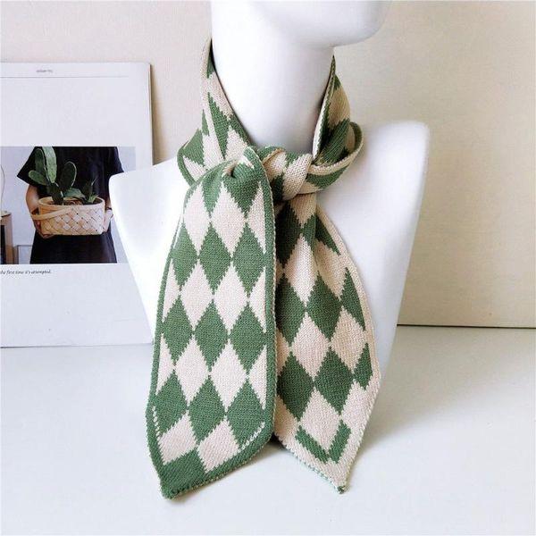 Rhombus Style Green