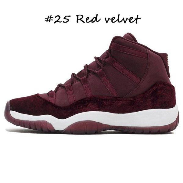 # 25 velours rouge