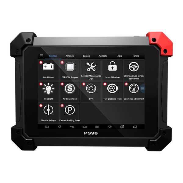 PS90 Automotive OBD2 Car Diagnostic tool With Key Programmer/Odometer Correctio/EPS Support Multi Car models With Wifi/BT