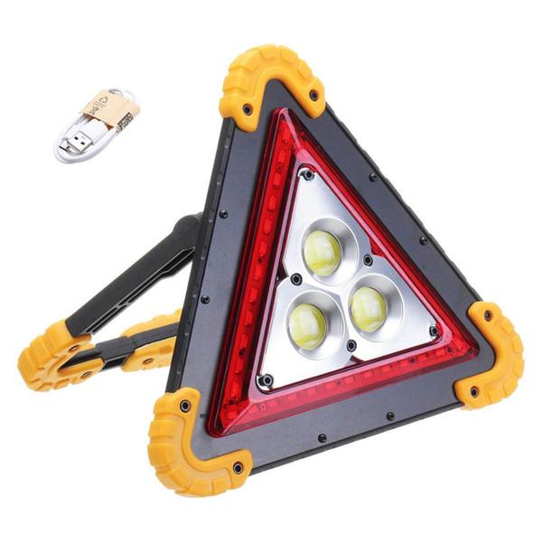 50 Watt COB LED Wiederaufladbare Arbeitslicht Notfall Lampe Handbrenner Camping Zelt Laterne USB Lade Bewegliche Energienbank Suchscheinwerfer