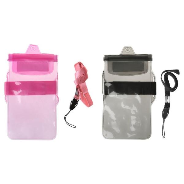 PVC Mobile Phone Waterproof Case Swimming Diving Bag For iPhone Samsung Underwater Dry Arm Bag #818413