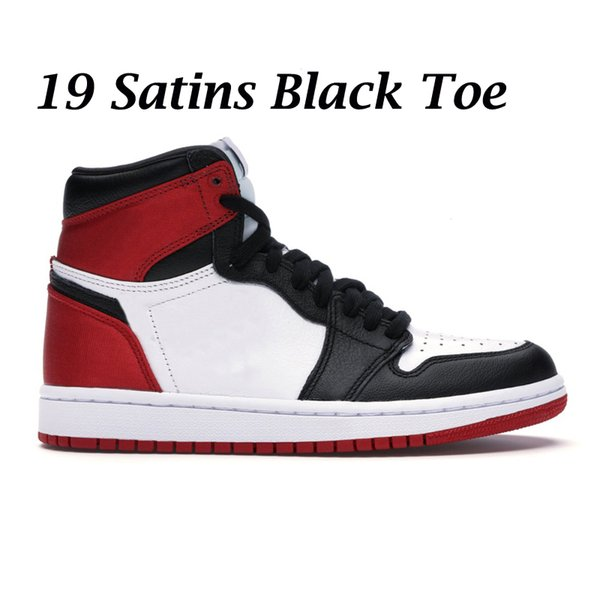 19 Satin Black Toe