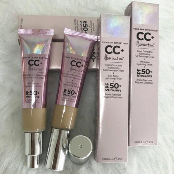 Make-up Kosmetik Color Correcting Illuminating Full Coverage Cream 32ml Grundierung Concealer 2 Farben Light Medium DHL Versand