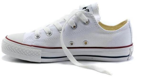 Spitzenklassiker conve1s2e der heißer Verkauf Unisex LOW-Top der Männer Männer Segeltuch-Kleidschuhe schnürten oben beiläufige Schuhe