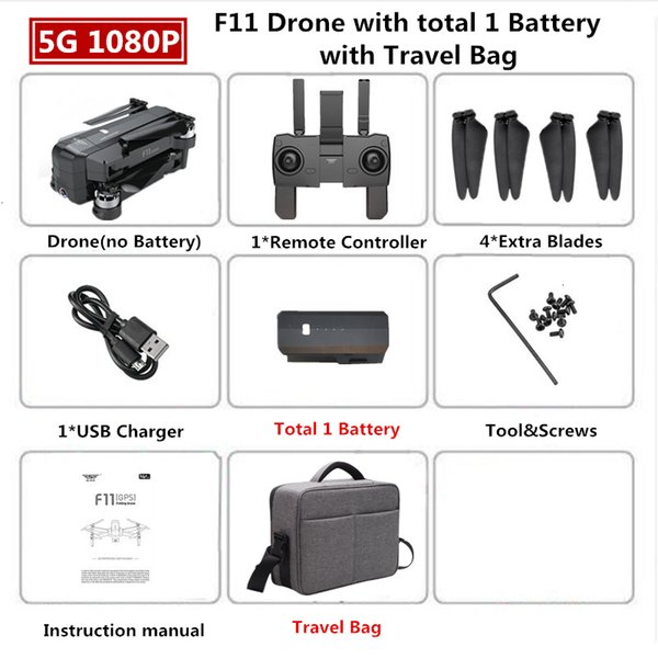 1080p 1B Travel Bag