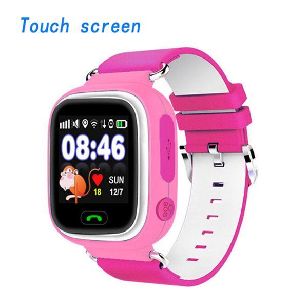 Timethinker Smart GPS Kids Watch Baby Anti-lost Watch Pantalla táctil SOS Call Location Device Tracker Niños Safe Monitor