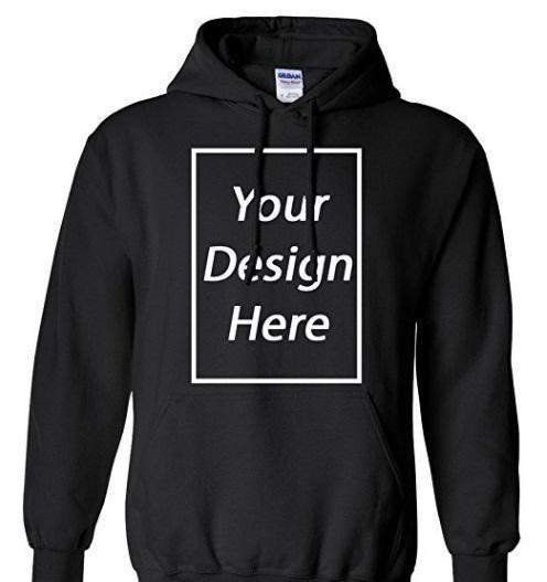 negro jersey de encargo casual diseño a la medida de su propia sudadera con capucha fresca con bolsillos laterales cualquier color de moda disponibles con capucha polar sudadera con capucha Ypf258