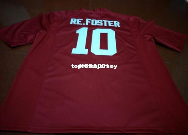 Ucuz Erkekler # 10 Reuben Foster Alabama Crimson Tide En yüksek kalite kırmızı siyah beyaz Kolej Jersey veya özel herhangi bir isim veya numara jersey