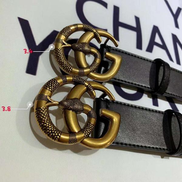des hommes de mode en cuir ceintures de luxe de ceinture à boucle grand hommes concepteur de ceinture marque ceintures boîte pas Livraison gratuite en gros