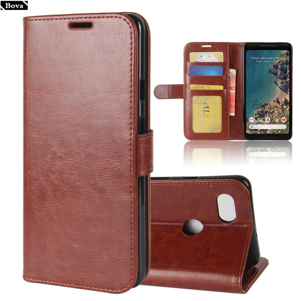 Cheap Flip Cases Premium Pu Leather Case for HTC Google 2 XL card holder cover case for Pixel 2 Pixel2 XL