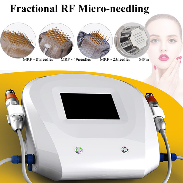 thermage face lift Micro needle fractional rf machine mole remover devi micro needles derma rolling mini fractional rf beauty machine