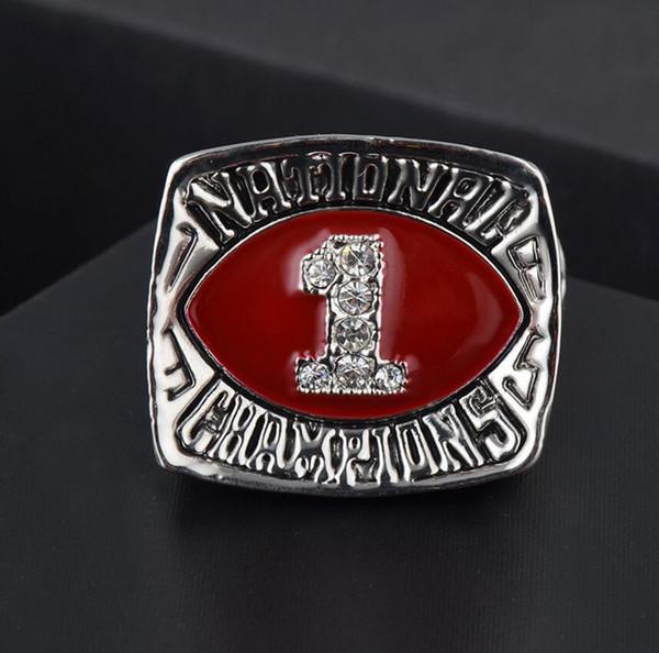 Чемпионат оптового высокого качества Oklahoma University кольцо Vintage кольцо Fan Collection Boutique Подарки для друзей