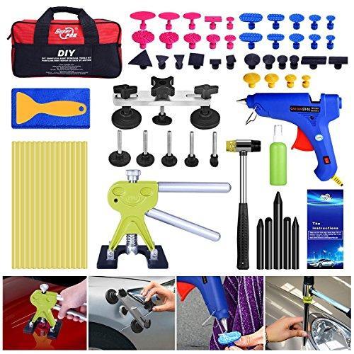 Kits de 64 piezas Set ding Body Auto Lifter Pulling Dent Remover Kit Dent Glue Tool Bag Removal Herramientas sin pintura Puller Super Repair