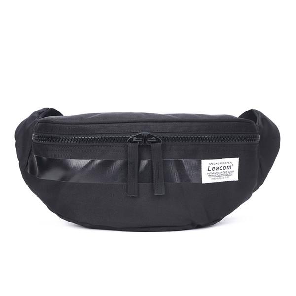 2019 novo à prova d 'água Coreano casual cross-pequeno saco dos homens ombro pendurado peito bag bolsos do telefone móvel mochila esportes designer de cintura bags1