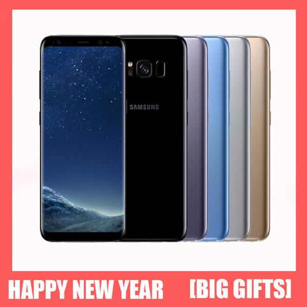 Hediye İçin Orjinal Samsung Galaxy S8 Artı Yenilenmiş Telefon Octa Çekirdek 6.2