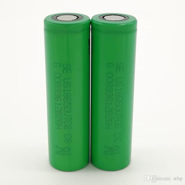 top popular 100pcs 100% High Quality For SONY VTC6 18650 Battery 3000mAh IMR 3.7V for LG SONY Samsung Rechargable Lithium Batteries Cell 2021