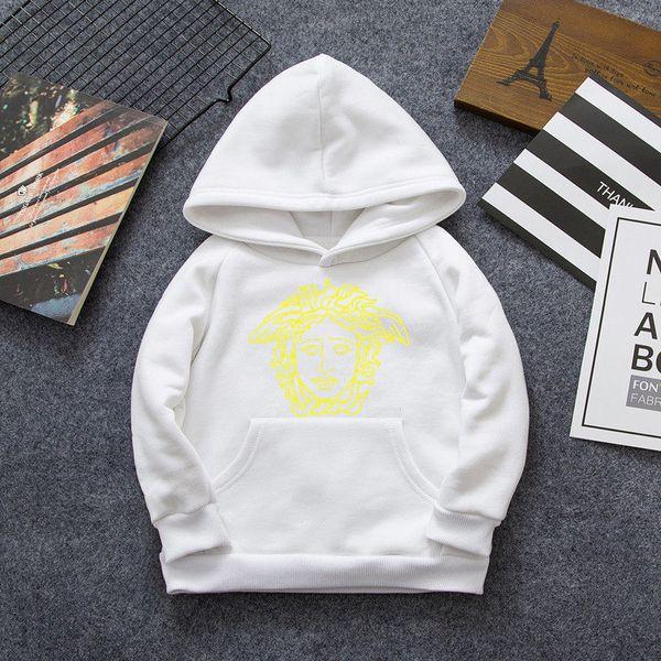 Дизайнерский бренд Медуза с длинным рукавом хлопок высокое качество куртка осень рубашка с длинным рукавом мальчики девочки свитер толстовка Детская одежда