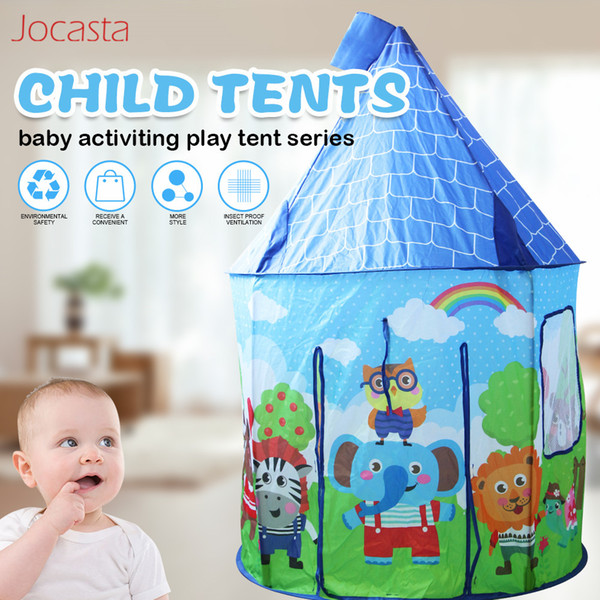 Children Portable Tent Toy Ocean Ball Pool Castle Play House Kids Folding Play Tent Baby Beach Tent Indoor & Outdoor Toys [