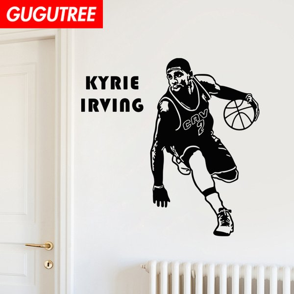 Decorate Home basketball cartoon art wall sticker decoration Decals mural painting Removable Decor Wallpaper G-1645