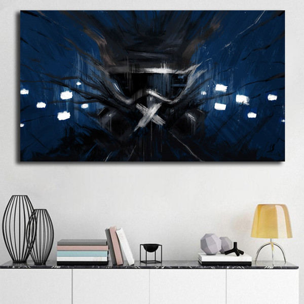 Sfondi muti di Tom Clancy Rainbow Six Siege HD Canvas Poster Stampe Wall Art Painting Immagine decorativa per la decorazione domestica