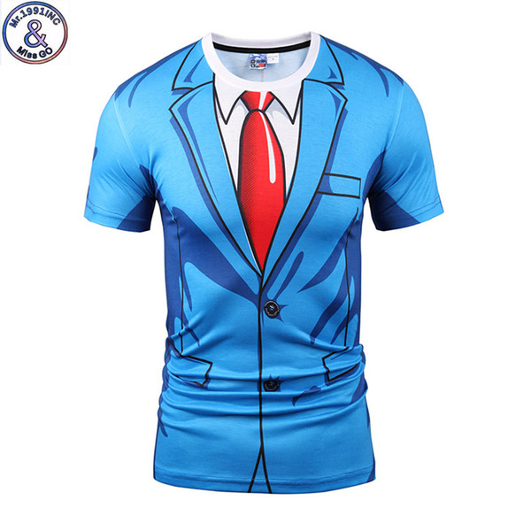 Mr.1991 Brand 2017 New Original Design Printed 3d T-shirt For Boys Or Girls Big Kids Party T Shirts 12-20 Years Teens Tops A51 Y19051003