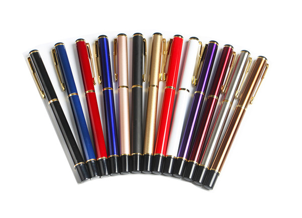 best selling 2019 NEW High Quality Metal Fountain Pen Set Luxury Pen Creative Christmas Gift Fashion Business Office School Supplies Wrinting Tool