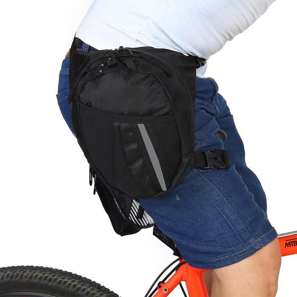 Portable Man Functional Fanny Running Bag Waist Bag Money Phone Outdoor Sport Running Travel Waist Pack Waistpack Leg