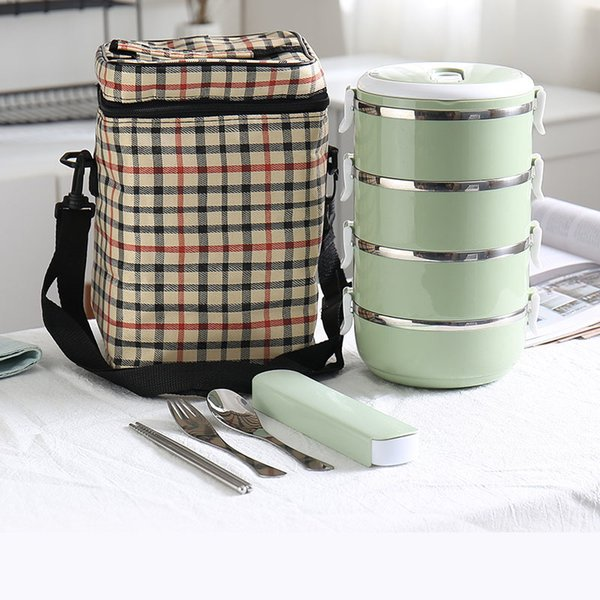 Green 4Layer And Bag