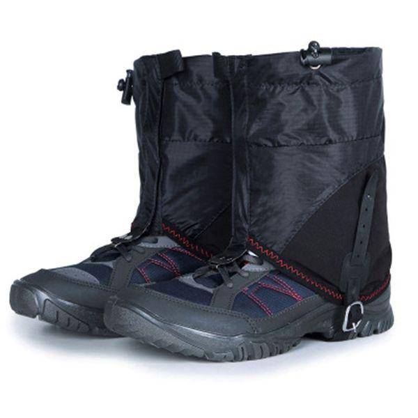 Unisex Legging Körüğü Bacak Kapak Su Geçirmez Kum Geçirmez Bacak Koruyucu Kar Rüzgar Geçirmez Kamp Yürüyüş Botları Ayakkabı Kapakları