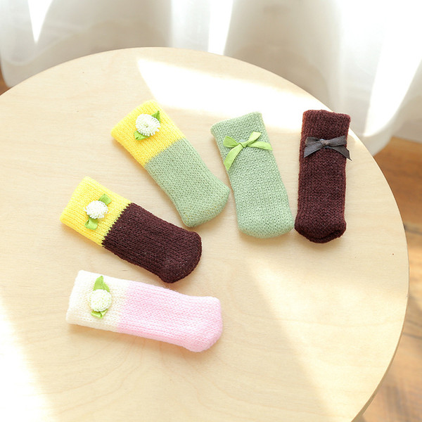 2019 1378 korean knitting wool tables and chairs foot set table rh m dhgate com