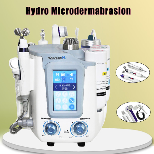 2019 New arrival !!! Multifunction Oxygen Jet Water Hydro Dermabrasion Skin Peeling Hydra Facial Machine Manufacturer Direct Sale