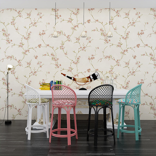 10m 0 53m Flowers Style Non Woven Wallpapers Classic Wall Paper Roll Wallcovering Luxury Wallpaper For Living Room Hall Room Decoration Free 3d