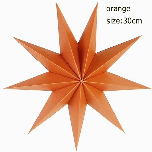 9 angles 30cm orange