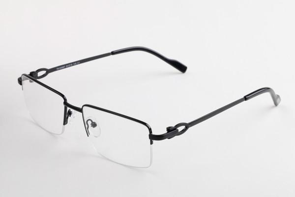 2fc13c7901 2019 New Buffalo Horn eyeware Brand Designer espejuelos Gafas de montura  sin montura para hombre Mujer