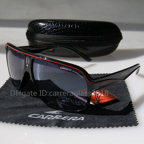 High quality Square Frame Retro Sunglasses Fashion Men and Women pilot Designer Vintage Sport Brand Sun glasses With case and box